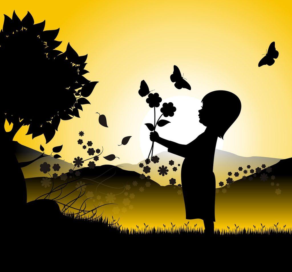 Blog enfant papillon