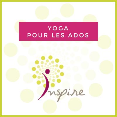 Cours de yoga destinés aux ados de 12 à 16 ans avec Catherine Blondiau